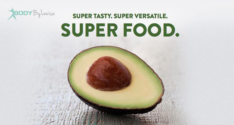 Avocado. Super tasty. Superfood.