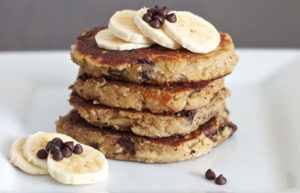 Paleo-Chocolate-Chip-Banana-Pancakes